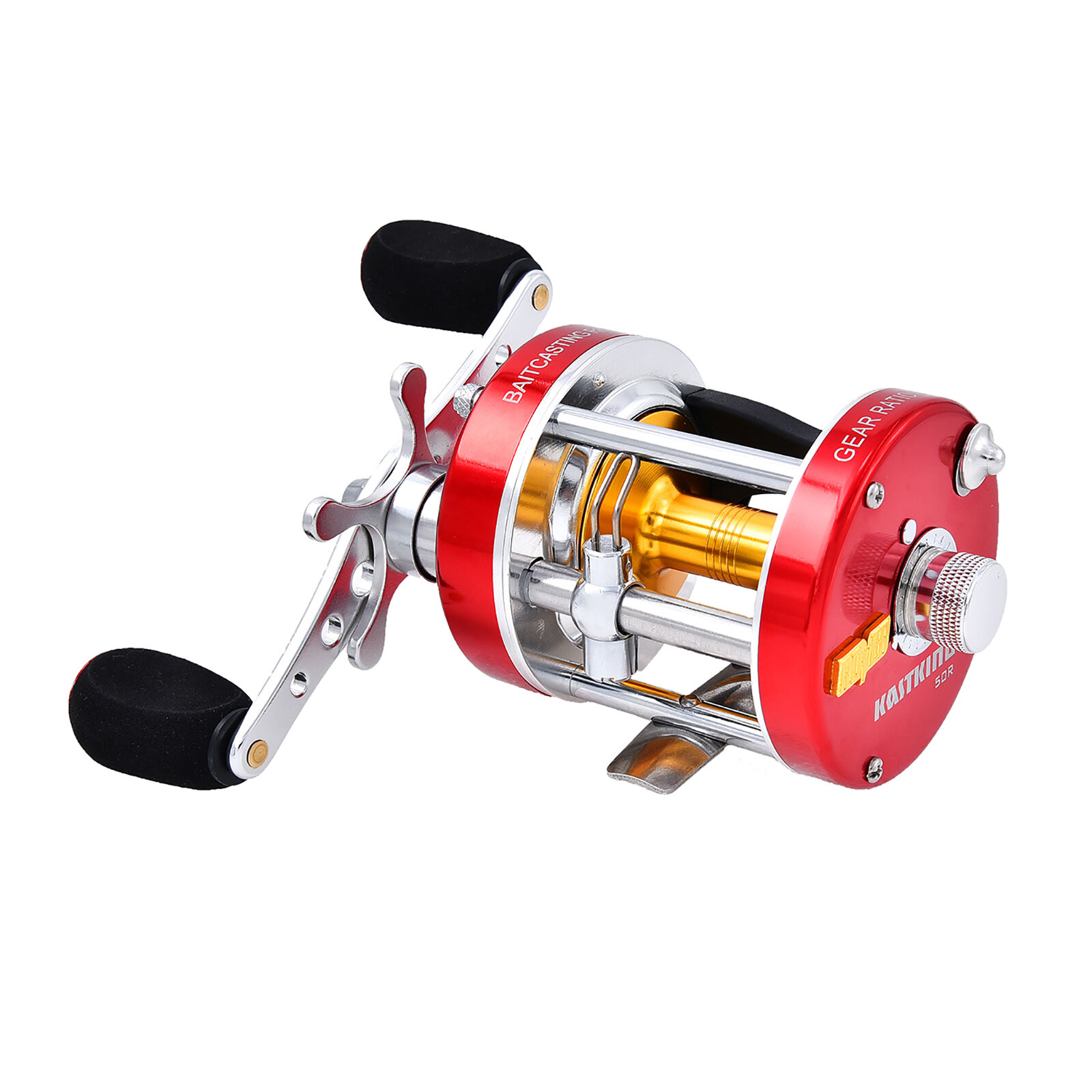 KastKing Rover50R Round Baitcasting Reel - No.1 Highest Rated Conventional Reel