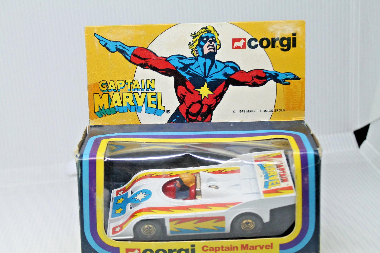 Corgi toys 262  Marvel  Capitán Marvel Porsche  embalaje original  Mint  1978