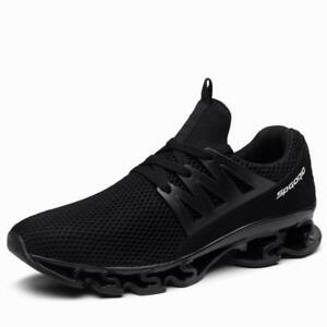 b45cd30bc92 Plus Size Men s Running Sneakers Soft Tank Sole Mesh Sports ...