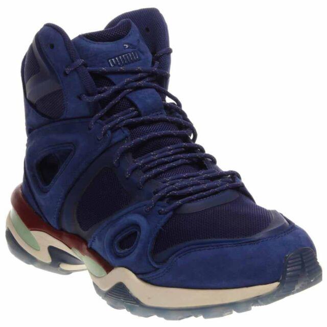 188b5ccf1e00 Puma Alexander McQueen Run Mid Sneakers - Blue - Mens
