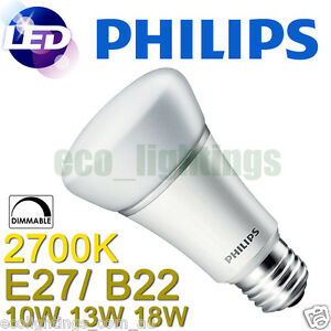philips master led bulb cool warm white e27 screw b22 bayonet 5w 8w 10w 13w 18w ebay. Black Bedroom Furniture Sets. Home Design Ideas