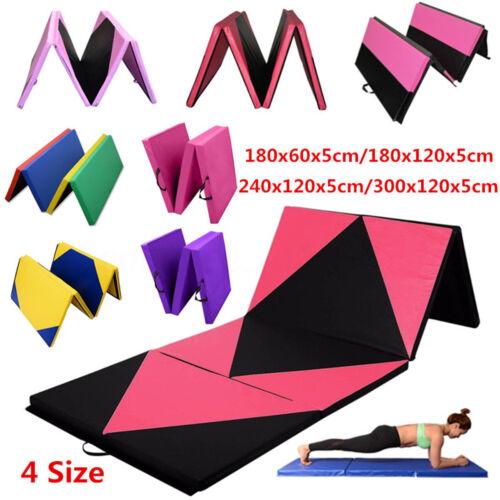 Sporting Goods 4 Size Gymnastics Mat Gym Folding Panel ...