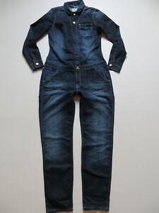 Lee-Overall-Jeans-Hose-Gr-M-W-34-L-30-wie-NEU-Stretch-Denim-Jumpsuit-RAR