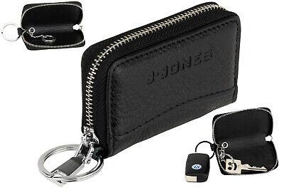 Jones Auto Schlüsseletui Schlüsselmappe Ringe Reißverschluss Schlüsselmäpchen J