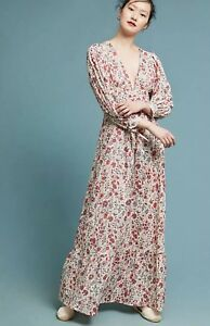 bfaa39eb23 NEW  258 Anthropologie Antik Batik Annie Maxi Dress Size Medium 40 ...