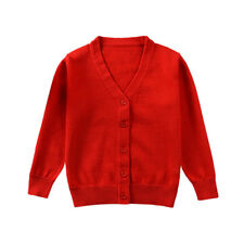 e802a50c3369dd Baby Girls Winter Long Sleeve Cardigan Jumper Sweater Child Fall Knit Jacket  BF