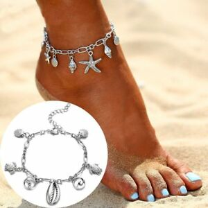 Boho-Wave-Pendant-Anklets-Women-New-Hot-Shell-Ankle-Jewelry-Trendy-Foot-Chain
