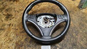 058-BMW-E81-E87-3er-E90-E91-Leder-Sport-Lenkrad-Multifunktionslenkrad-6769895