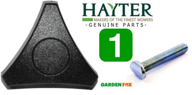 savers GENUINE Hayter Lawnmower HANDWHEEL & SCREW BOLT  226013 569 & 226024 170
