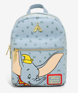 Brand New Disney X Loungefly Dumbo Letters Mini Backpack