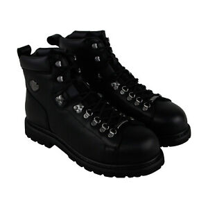 Harley-Davidson Dipstick 5.5-Inch Steel Toe Mens Black Motorcycle Boots Shoes