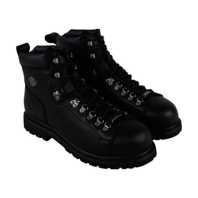 Toe Davidson 5 Boots 5 Harley Steel Shoes Inch Dipstick Black Motorcycle Mens 2bWeDHEI9Y