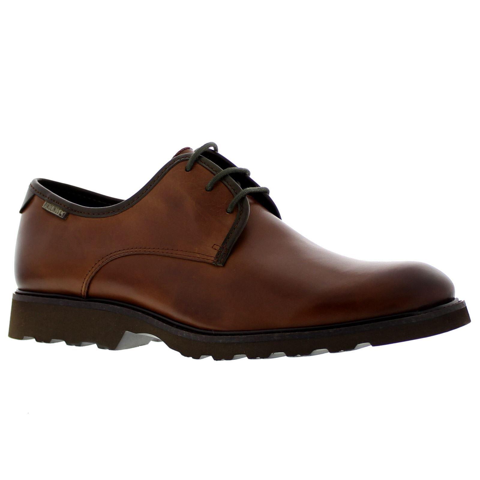 Pikolinos Glasgow M05-6545C1 Cuero Mens Leather Low-profile Lace-up Derby Shoes