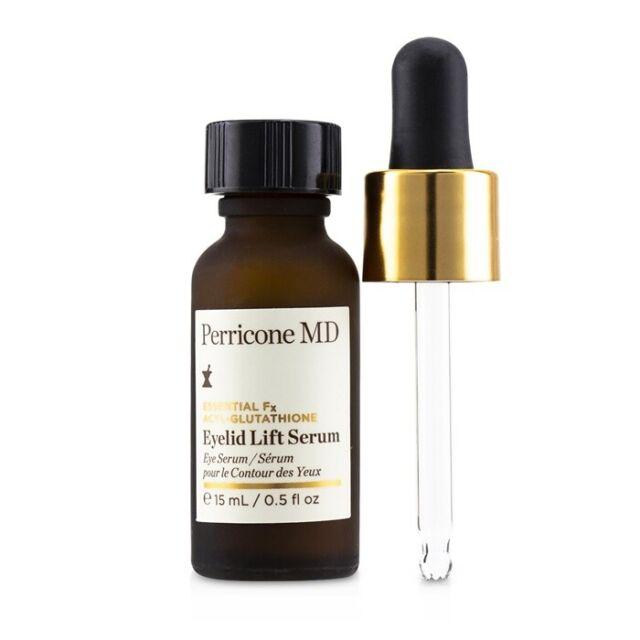 NEW Perricone MD Essential Fx Acyl-Glutathione Eyelid Lift Serum 15ml Womens