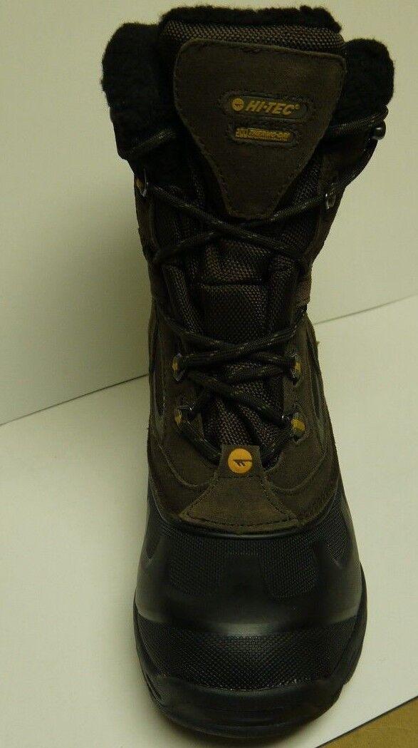 Hi-Tec Capri 200 WP Dark Chocolate Winter Boots Size 7 8 9 10 11 12 13 (40596)