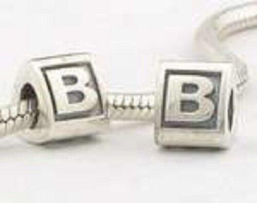 Sterling Silver Letter Alphabet A B C D E F G H I J K L M N O P  R S T  V W X Y
