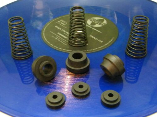 ♫ KIT 3 SPRINGS SUSPENSION+SEALS ORIGINAL TURNTABLES LINN LP 12 ♫