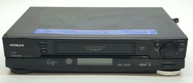 Hitachi Vtux6430a Vhs Vcr For Sale Online Ebay