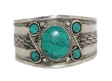 Turquoise Bracelet Turquoise Cuff Bracelet Silver Bracelet Turquoise Bangle