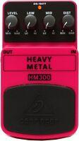Behringer Hm300 Heavy Metal Distortion Pedal on sale
