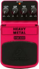 Behringer HM300 Heavy Metal Distortion Pedal
