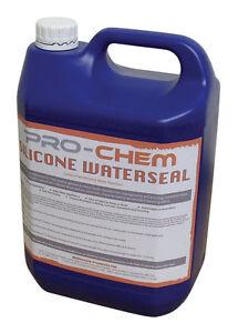Silicone Water Sealer Repellent Masonry Brick Stone Wall