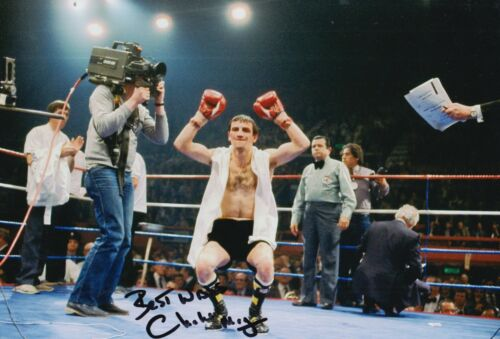 Charlie Magri Hand Signed Boxing 12x8 Photo.