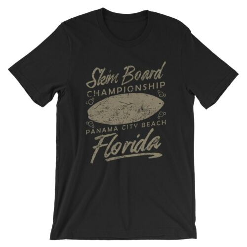 100/% Cotton Premium Tee NEW Skim Board T-Shirt
