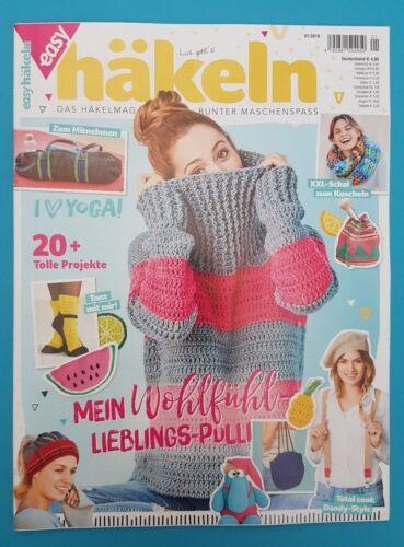easy Häkeln 01//2018 das Häkelmagazin für bunten Maschenspass ungelesen 1A absTOP