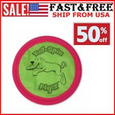 """Soft Bite Floppy Disc Dog Toy 7/"""" Small Flyer USA Brand LoveWally"""