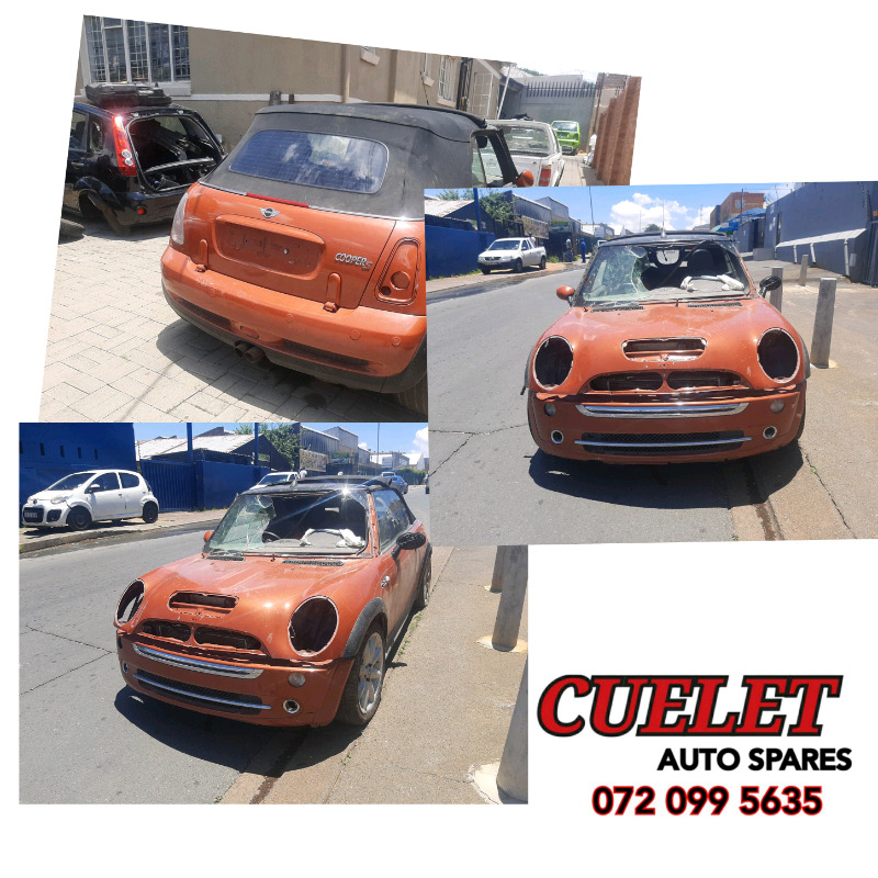 Mini Cooper stripping for spares call us now