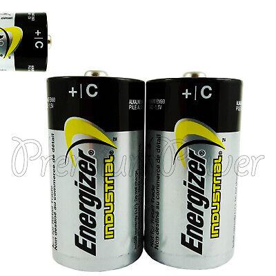 2 X Energizer C Size Batteries Industrial 1 5v Lr14 Mn1400 En93