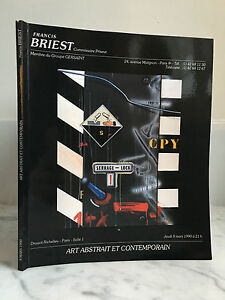 Catalogue Di Vendita Francis Briest Arte E Contemporaneo 8 Giugno 1990
