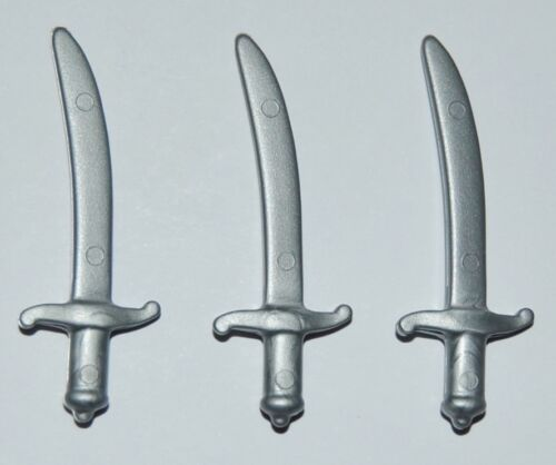 272171 Espada cimitarra plata 3u playmobil,medieval,scimitar,sword