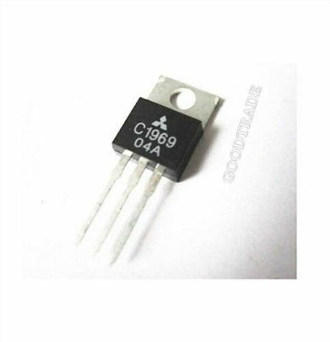 3Pcs 2SC1969 C1969 TO-220 Rf Power Transistor Epitax US Stock a