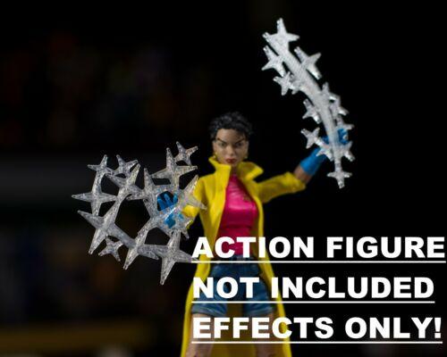 Jubilee Translucent Fireworks 2 Pack EFFECTS ONLY Mezco Marvel Legends 1//12