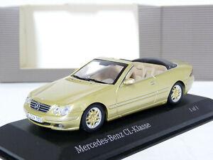 Minichamps-Unique-1-43-Mercedes-Benz-CL500-NCE-Cabriolet-Handmade-Diecast-Model