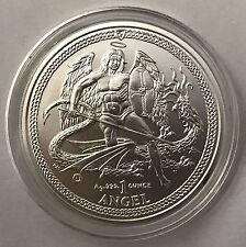 2015 Isle of Man Angel Brilliant 1oz .999 Silver Bullion Coin