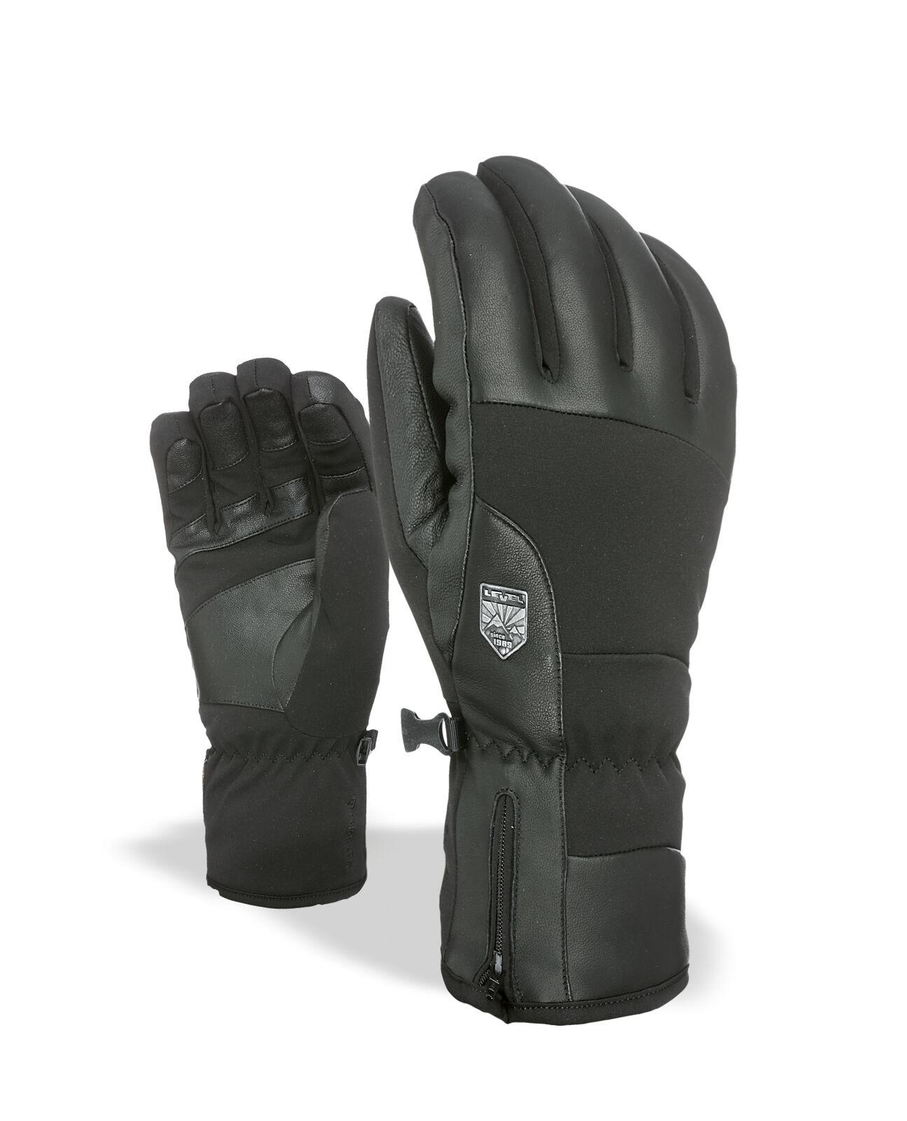 Level Handschuh Sharp black wasserdicht atmungsaktiv wärmend
