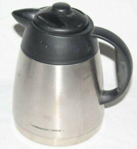 Starbucks-BA1TC-Coffee-Pot-Barista-Aroma-Carafe-Stainless-Steel-Used