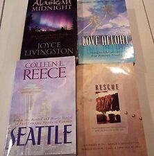 Lot of 4 Christian Based Romance Books - 4 Novellas In 1 (Lot E) - Paperback