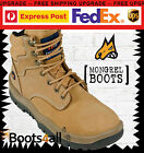 NEW Mongrel Work Boots Safety/Steel-Toe Cap Lace-up Athletic Runner Style 260050