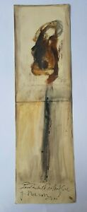 Painting by Nelson Dominguez. No title. Year 2004 Original signed by the artist
