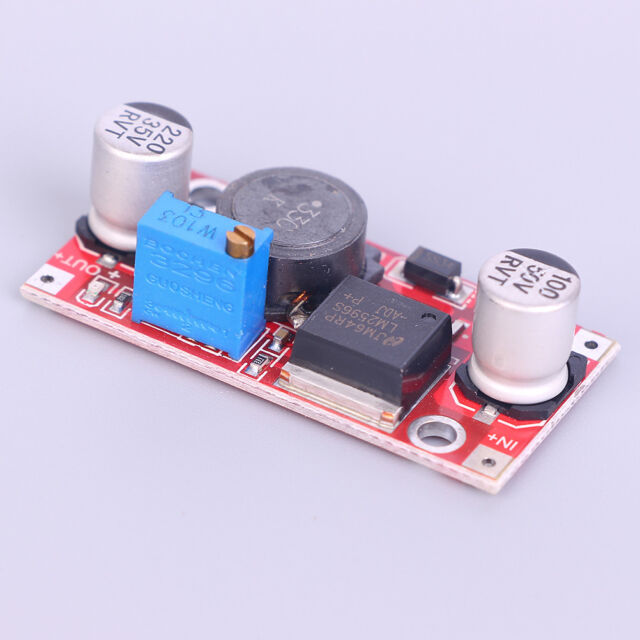 DC-DC Step Up Down Boost Voltage Converter Module LM2577S LM2596S Power TTS