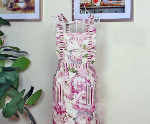 Apron Kitchen Dress Waitress Cooking Bib Women Pocket With Restaurant