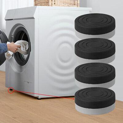 4 x UNIVERSAL Tumble Dryer Rubber Feet Anti Vibration Non Slip Absorber Pads