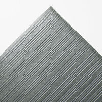 Crown Ribbed Anti-fatigue Mat Vinyl 36 X 60 Gray Fl3660gy on Sale