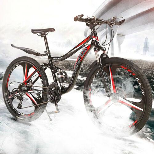 26 Zoll 21-Gang Doppelscheibenbremse Double Shock Absorption Mountainbike
