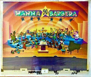 Hanna-Barbera-Cel-Original-Production-A-Yabba-Dabba-Doo-50th-Celebration-Cell
