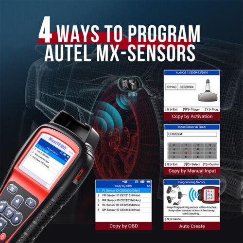 Autel TS508 Auto Diagnosegert Reifendruckkontrollsystem TPMS ...